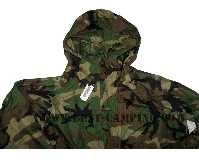 Us เสื้อกันฝนเสื้อผู้ชายลายทหาร(ลายน้ำ)ของแท้100%สินค้าลดราคา.