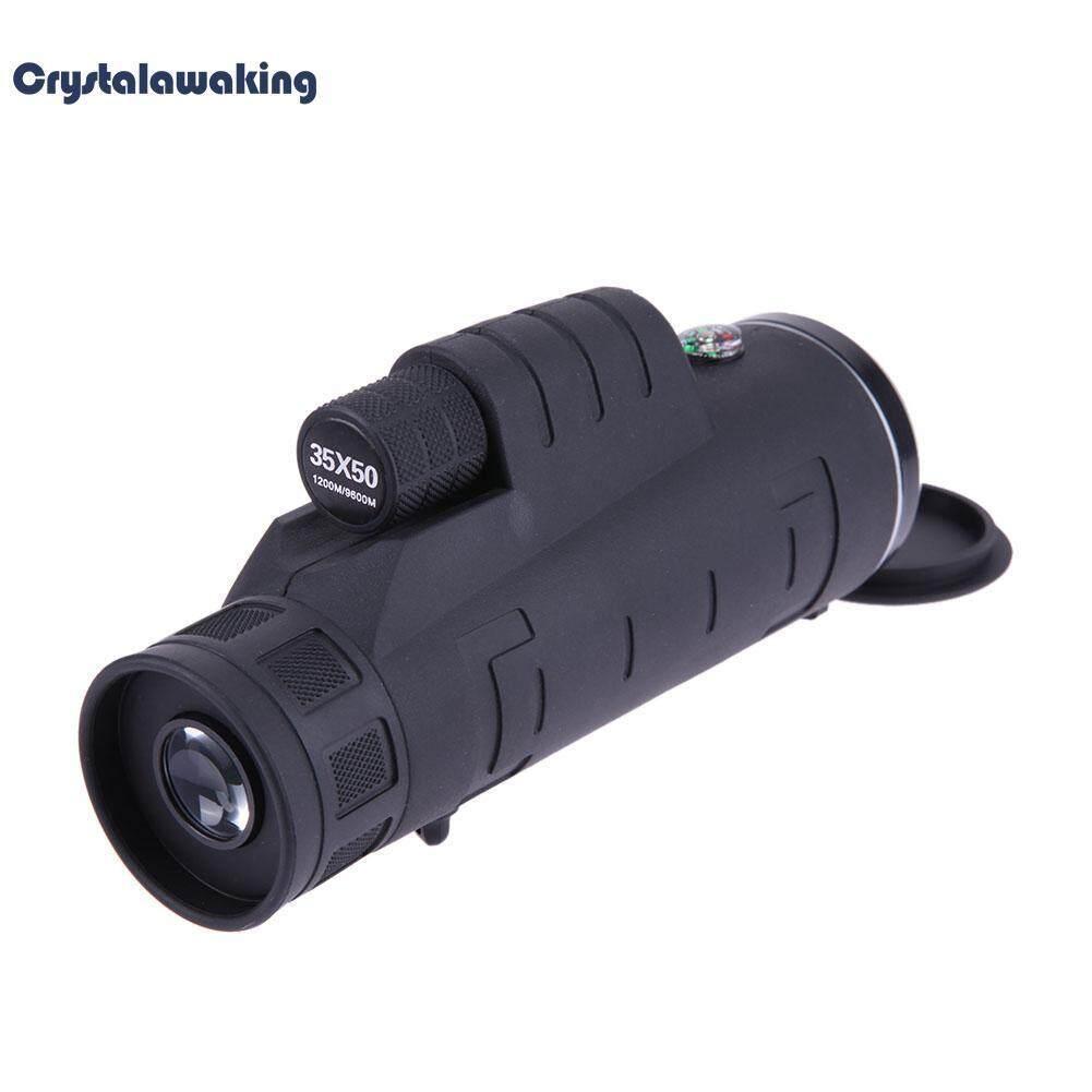 แบบมือถือ 35 X 50 มองในที่มืดกล้องส่องทางไกลตั้งแคมป์ท่องเที่ยวปรับได้ - Intl.
