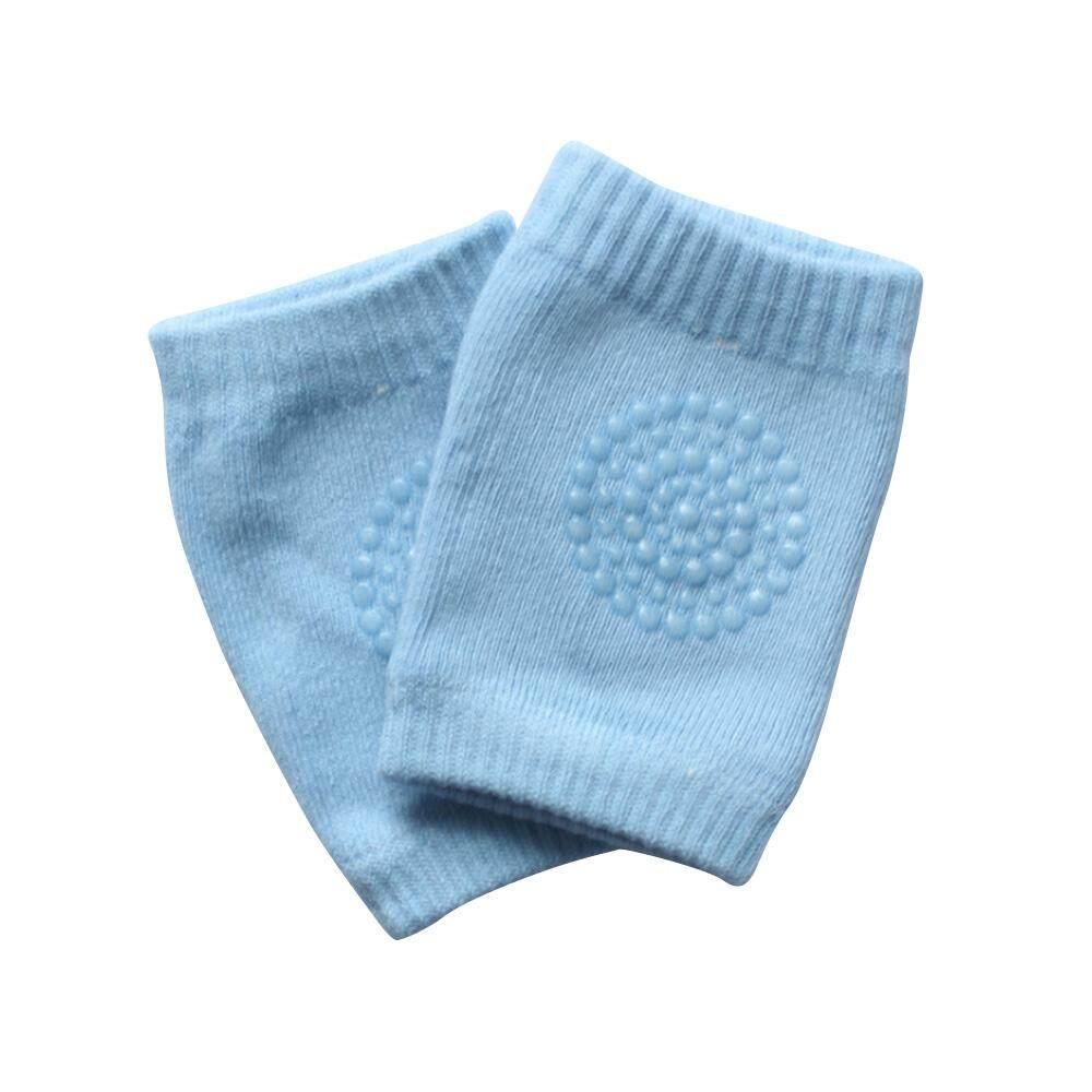 Bayi Kapas Bantalan Lutut Anak Antiselip Merangkak Pelindung Lutut Kaki
