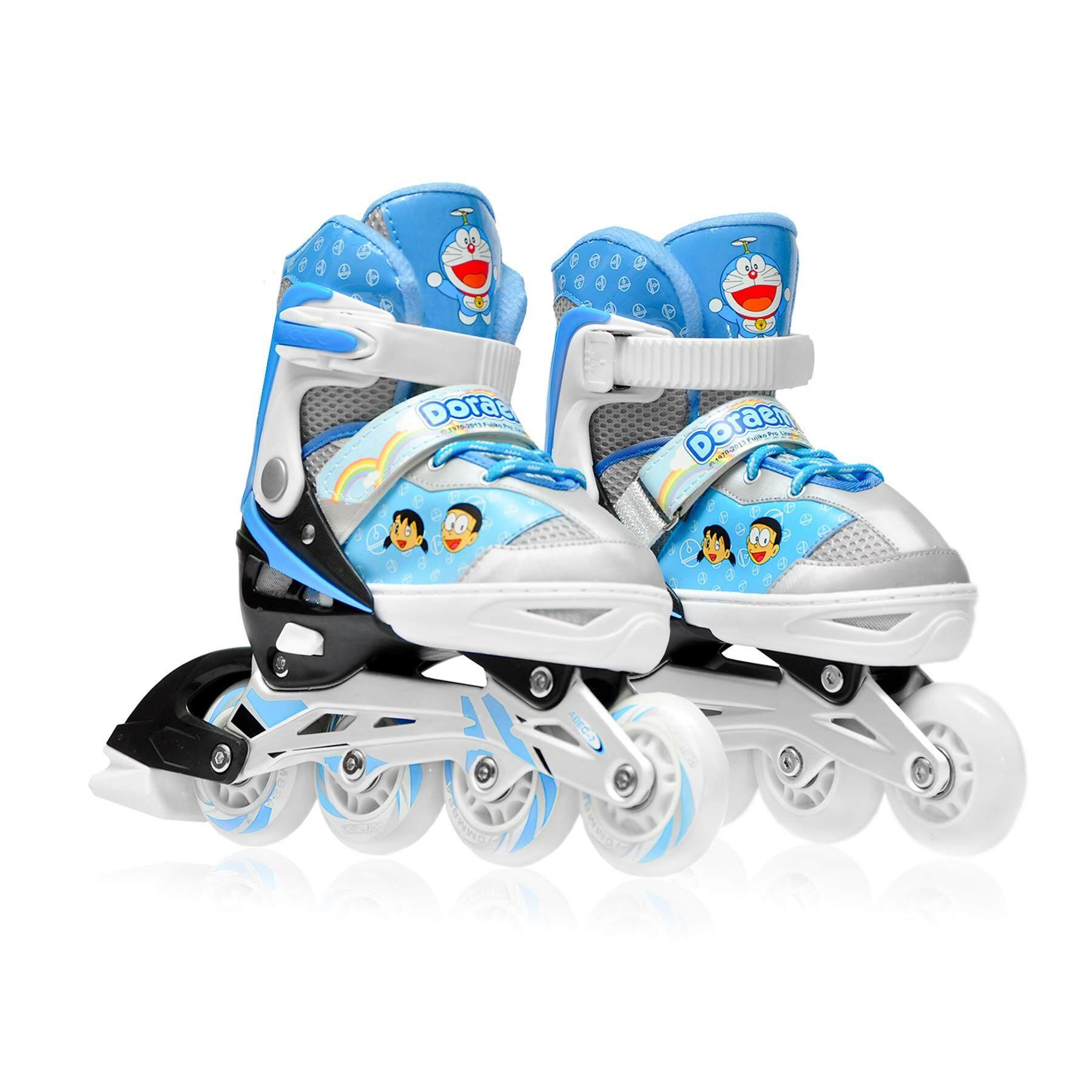 Doraemon รองเท้าอินไลน์สเก็ต โดราเอมอน   Inline Skate Doraemon (blue).