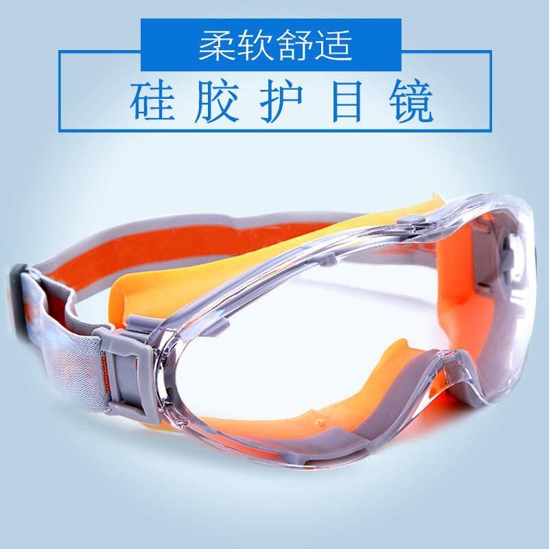 Transparan Kacamata Pelindung Anti-Shock Anti Debu Antikabut Pasir Tahan Angin Bersepeda Perlindungan UV Kacamata