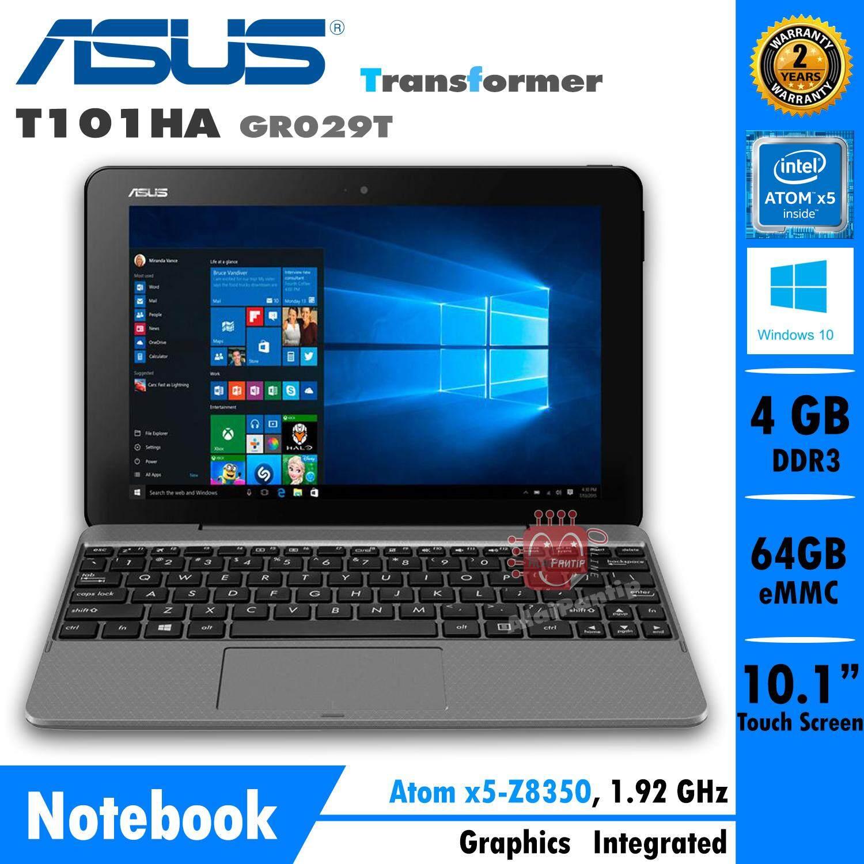 Notebook Asus Transformer Book T101HA-GR029T (Gray)