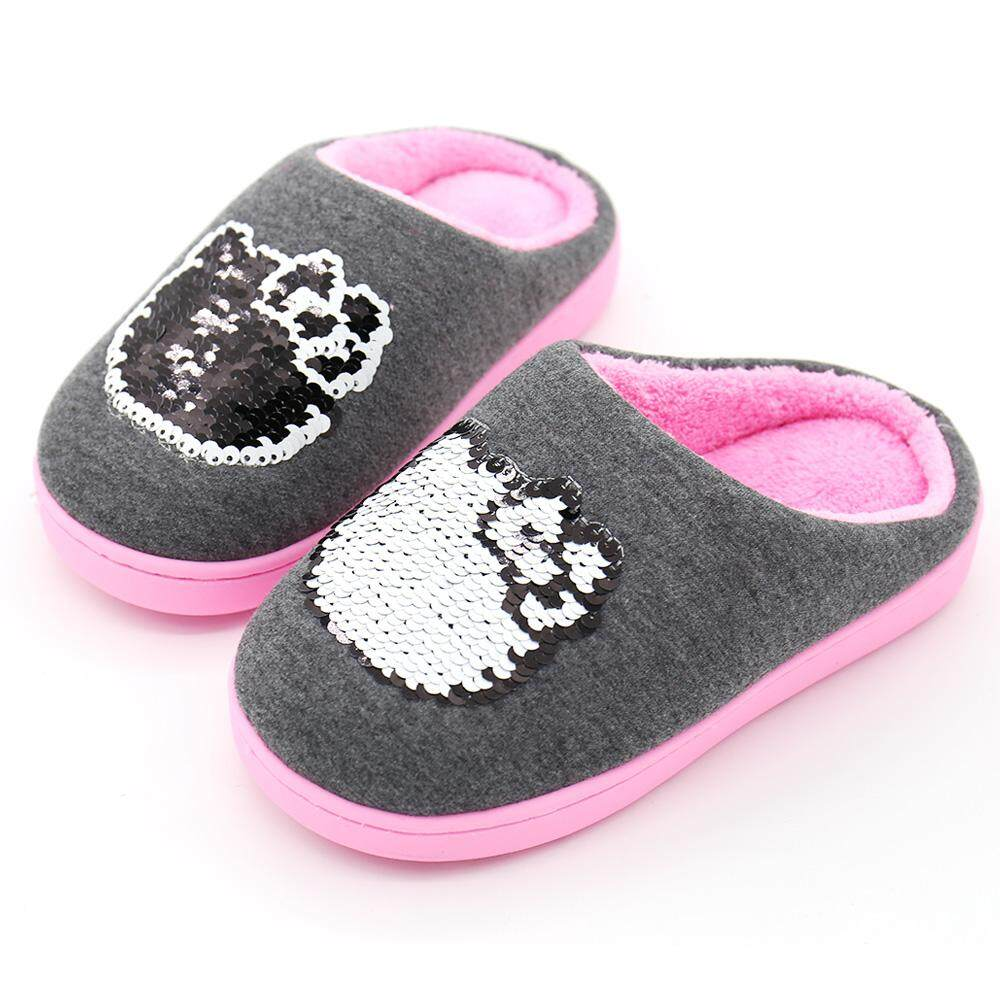 750b5b351d20 Hello kitty hello kitty magic sequin girls slipper anti slip soft bottom  snnei big jpg 1000x1000
