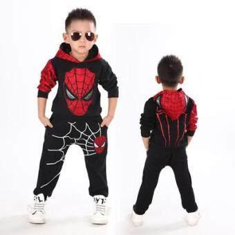 Children's superman spiderman suit