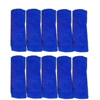ผ้าไมโครไฟเบอร์ขนาด40x40cm จำนวน 10 ผืน By Max-1 Car Detaling.