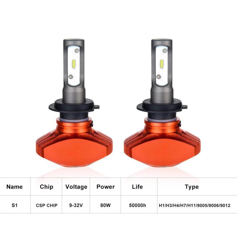 Ammtoo H4 H7 LED H11 H1 LED Lampu Depan Mobil 9005 HB3 9006 HB4 Lampu Kabut ...