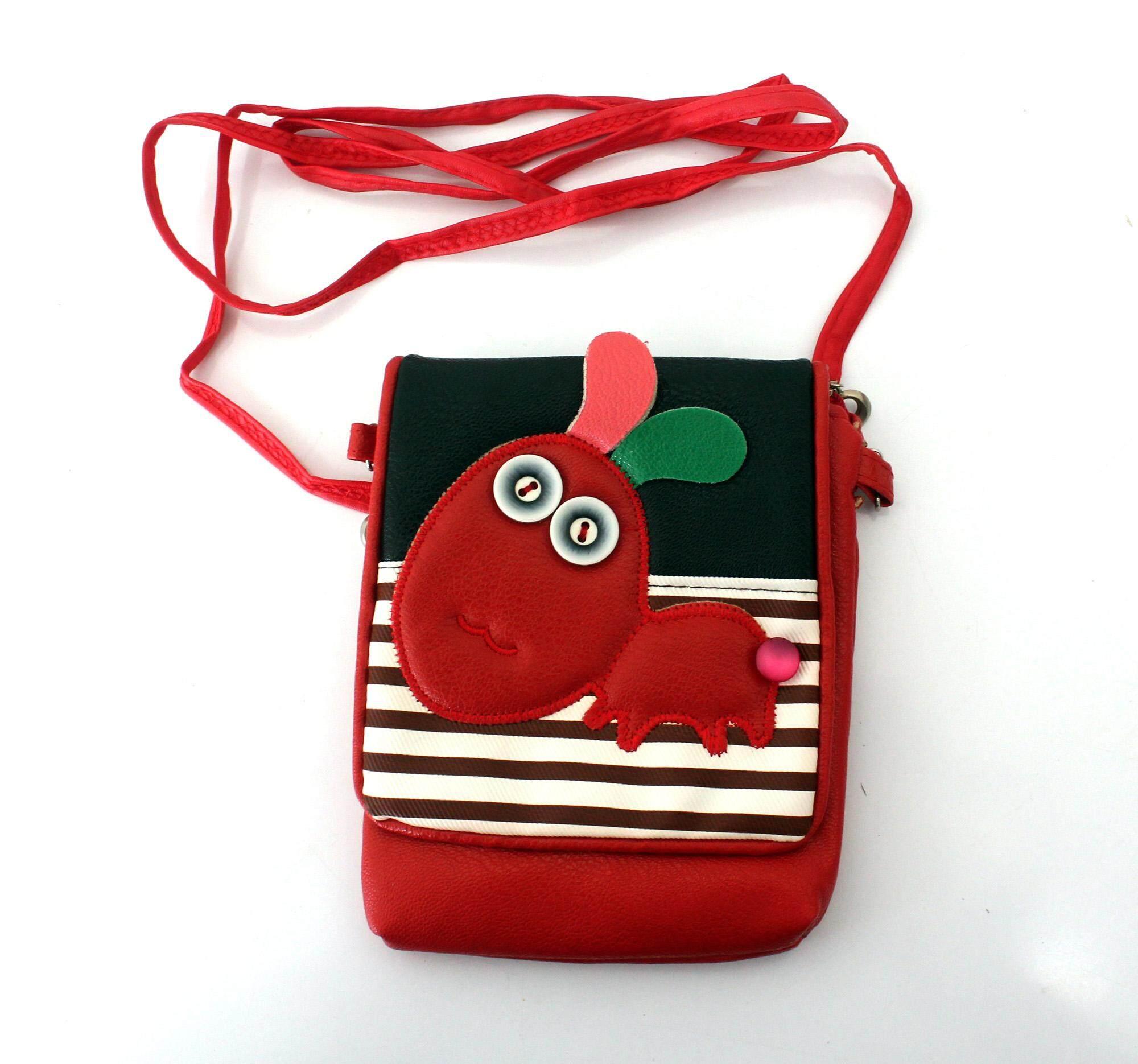 กระเป๋าสะพายข้าง รูปมดสีแดง รุ่น Hl975114.
