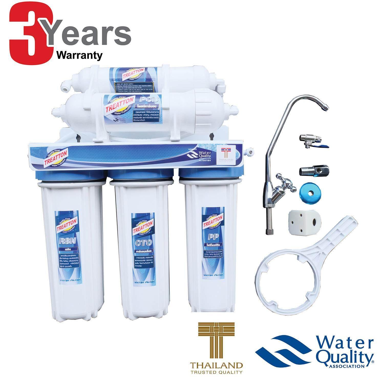 ราคา Treatton เครื่องกรองน้ำดื่ม 5 ขั้นตอน รุ่น Aqua Clean คุณภาพดี ใหม่ล่าสุด
