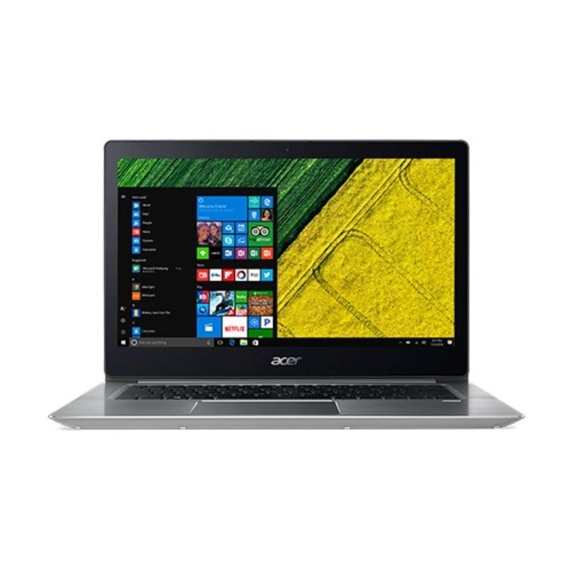 Notebook Acer  Swift3  SF314-52-538U i5-8250U 8G256G UMA W10 S (NX.GQGST.005)ประกันศูนย์Acer