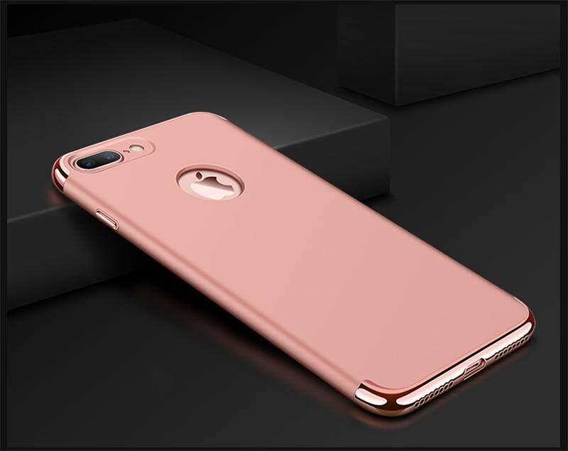 ... IPhone 8 Plus Mewah Menyepuh Dgn Listrik Shockproof Kembali Casing Kover untuk IPhone8 Plus Case Keras