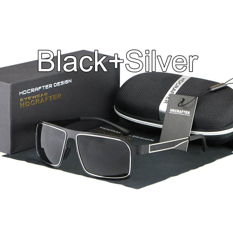 5fda13f1dc71c HDCRAFTER Mens Sun glasses Polarized Sunglasses Night Driving Glasses  Oculos De Sol Feminino Polarizado Brand Designer
