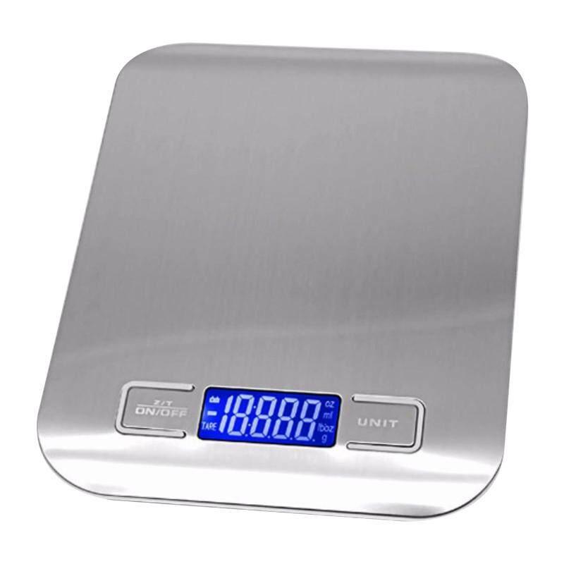 Electronic Kitchen Scale เครื่องชั่งอาหาร เครื่องชั่งดิจิตอล เครื่องชั่งวัตถุดิบ ชั่งเครื่องปรุง ชั่งตวง เครื่องชั่งทำเบเกอรี่ [เทา]