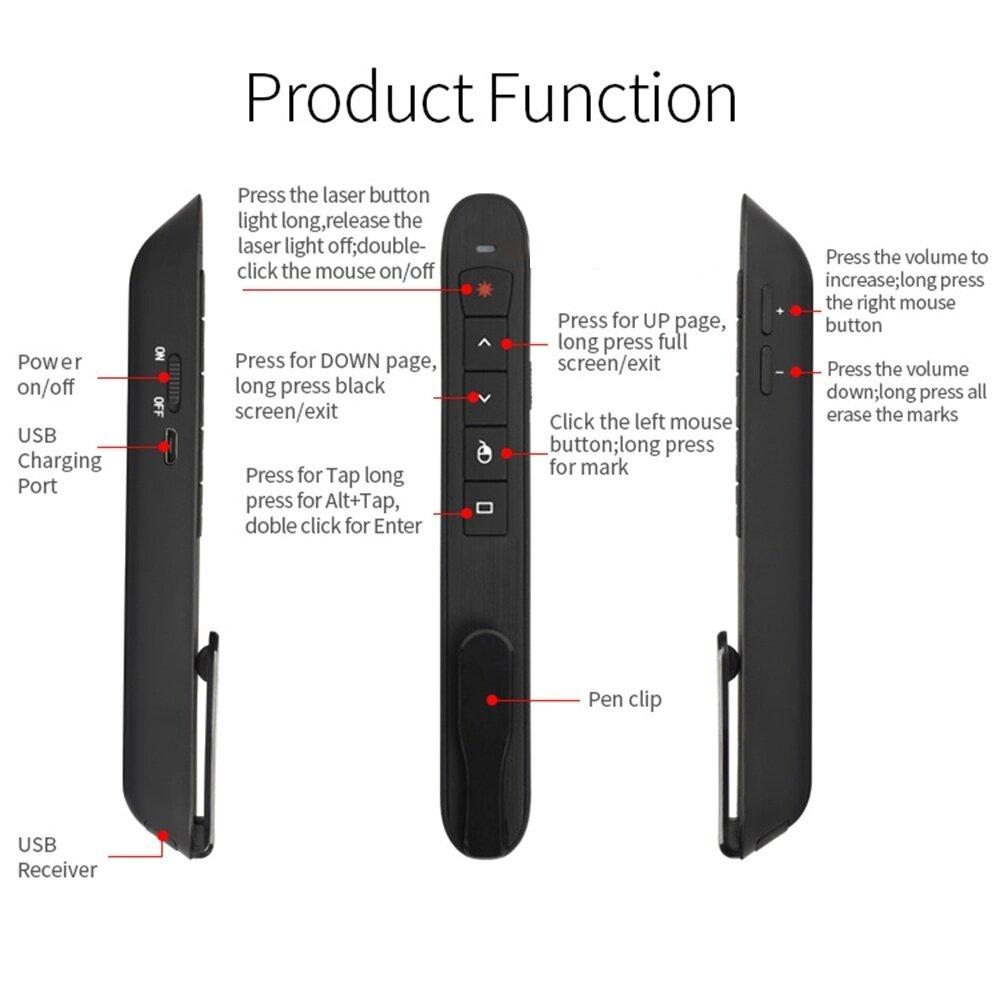 wireless laser presenter for mac