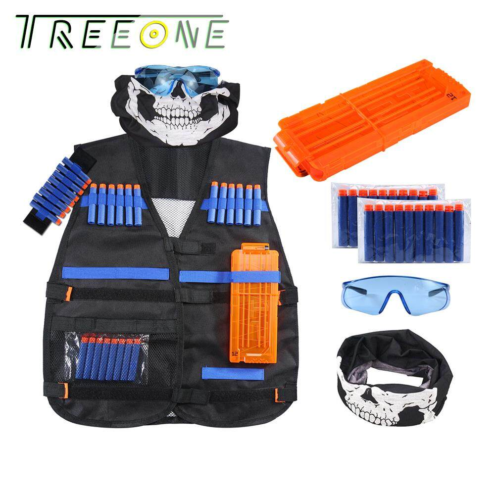 Kids Tactical Vest Kit Nerf Vest Kit For Kids.