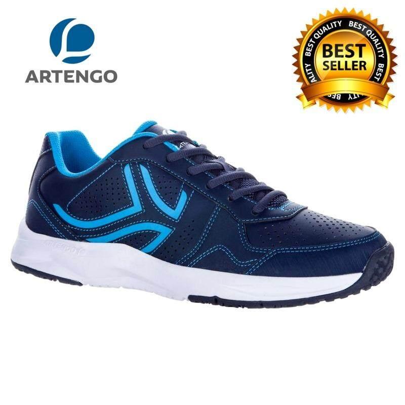Artengoรุ่นts830รองเท้าเทนนิส รองเท้ากีฬา สำหรับผู้ชาย(สีกรมท่า)สำหรับนักเทนนิสเพื่อช่วยปกป้องข้อต่อของคุณได้ น้ำหนักเบาและยืดหยุ่น ให้ความสบายและความสนุกสนานขณะเล่นในสนาม.