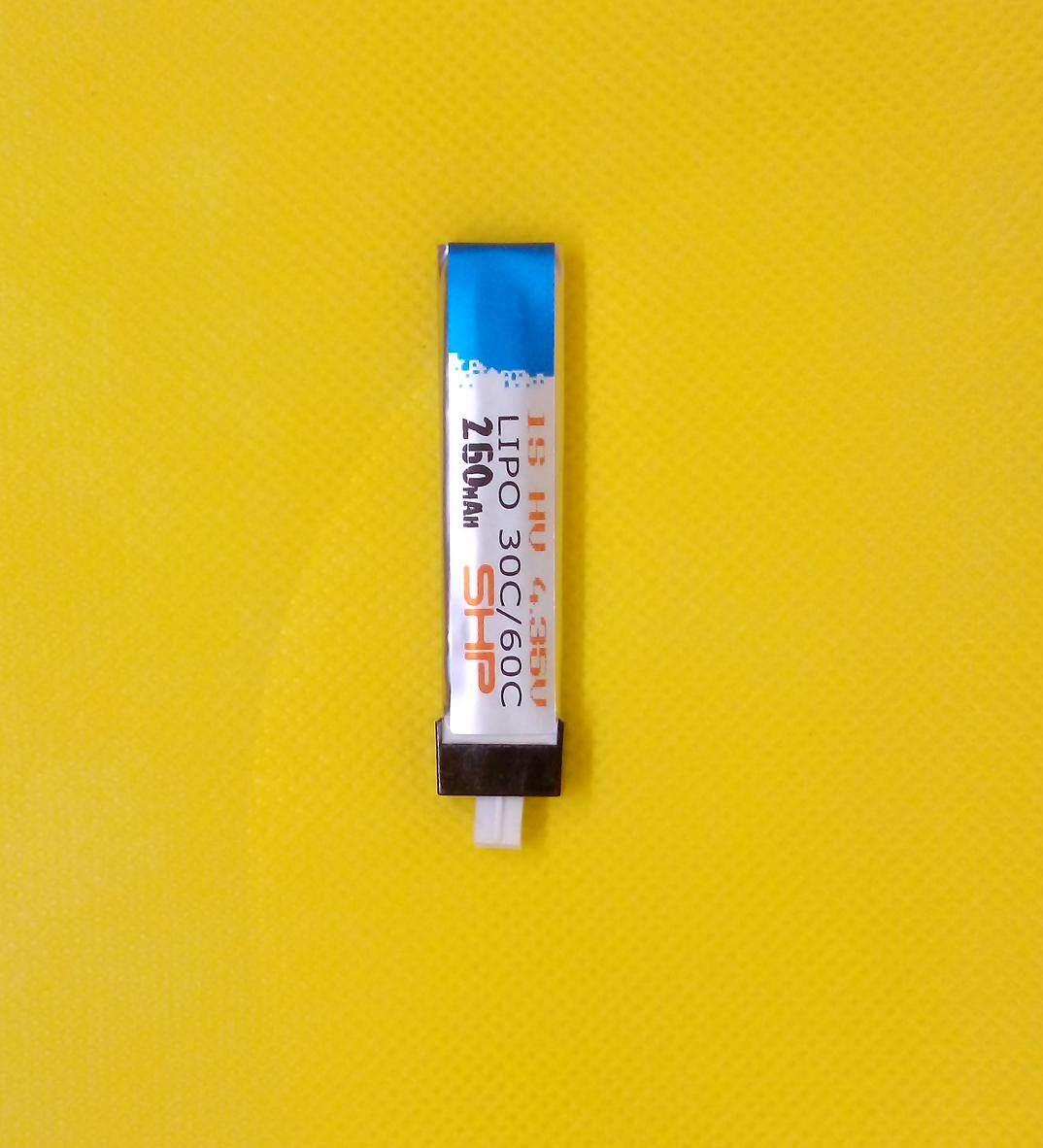 2018 New!! Shp 1s Lipo Battery High-Voltage Hv 4.35v 30c/60c 260mah Tinywhoop Betafpv Micro Quad Fpv Racer Batteries - 2018 ใหม่ !! Shp 1s Lipo แบตเตอรี่แรงดันไฟฟ้าสูง Hv 4.35v 30c / 60c 260mah Tinywhoop แบตเตอรี่ Betafpv Micro Quad Fpv Racer Batteries