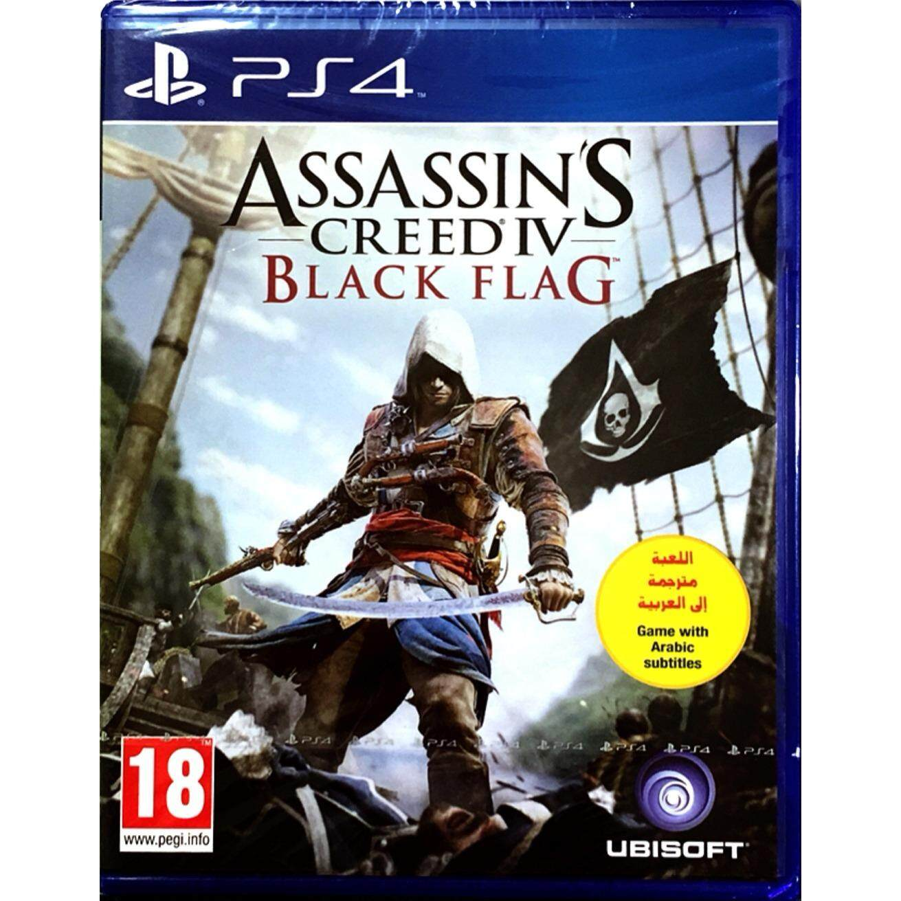 PS4 Assassin's Creed IV: Black Flag (Z2)( English )