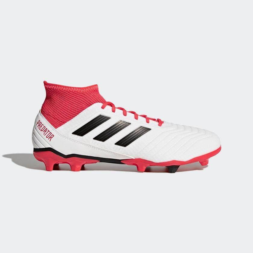 d789a618114d Adidas รองเท้าฟุตบอล Adidas Predator 18.3 FG/AG [CM7667] White / Black