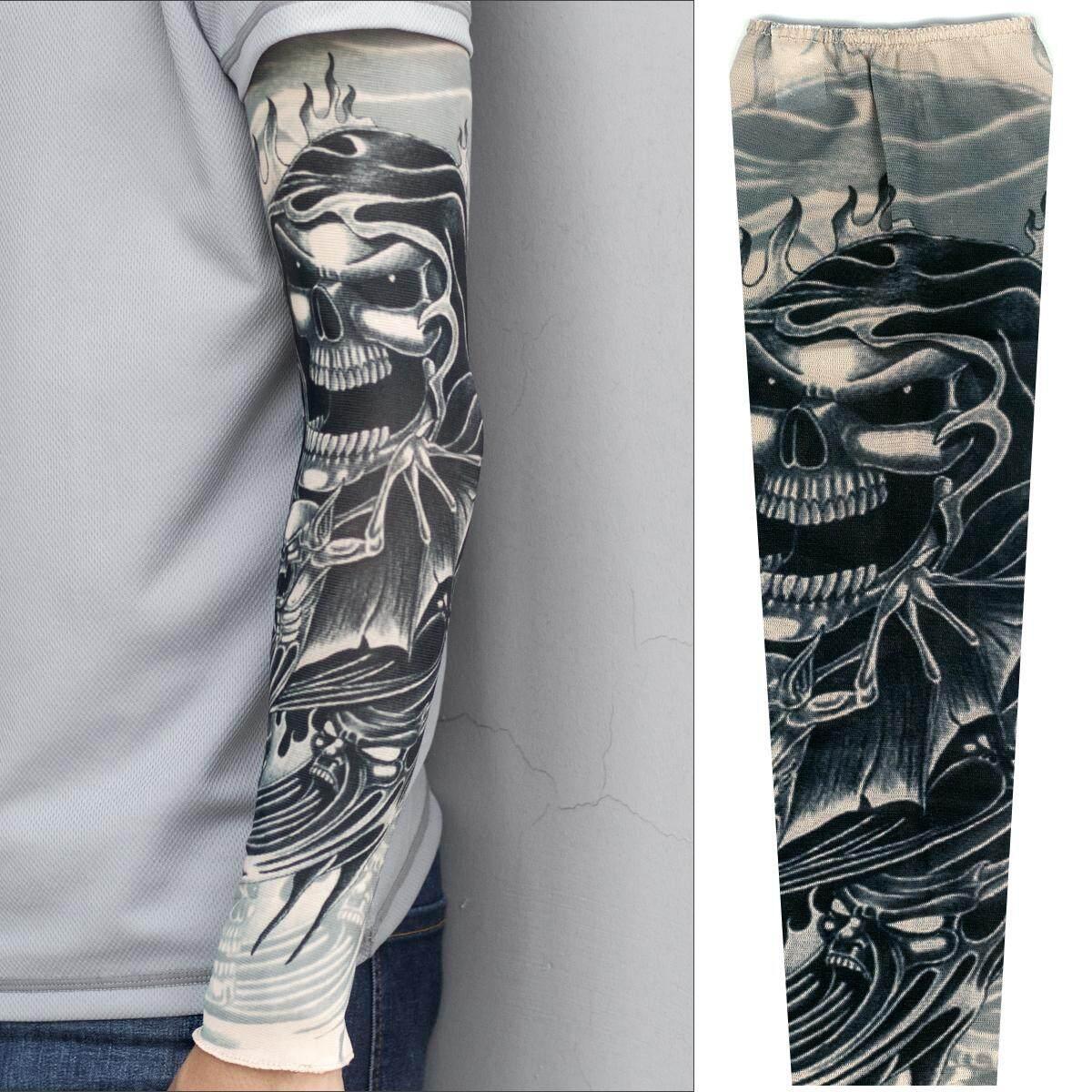 Nilon Stoking Lengan Anak Anak Sementara Lengan Tato Keren Tato Source · Male Cover Tattoo Oversleeve Sleeves
