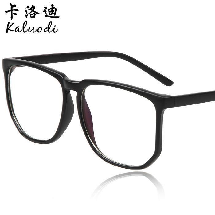 Hitam Bingkai besar Bingkai non mainstream Frame kacamata Komputer Anti  Radiasi kacamata Pria dan wanita Bingkai dbc2174bbf