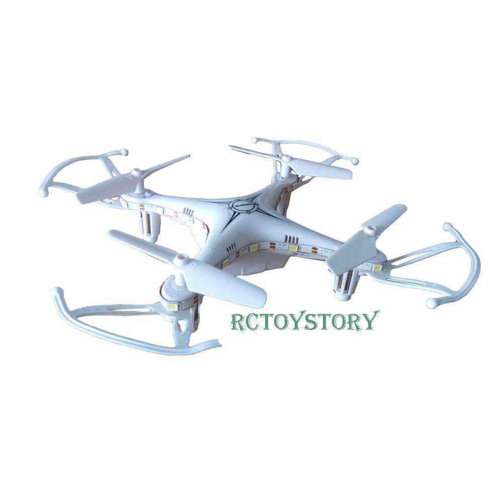 Rctoystory โดรน เฮลิคอปเตอร์ เครื่องบิน 4 ใบพัด X13 มีไฟ 2.4 Ghz  .