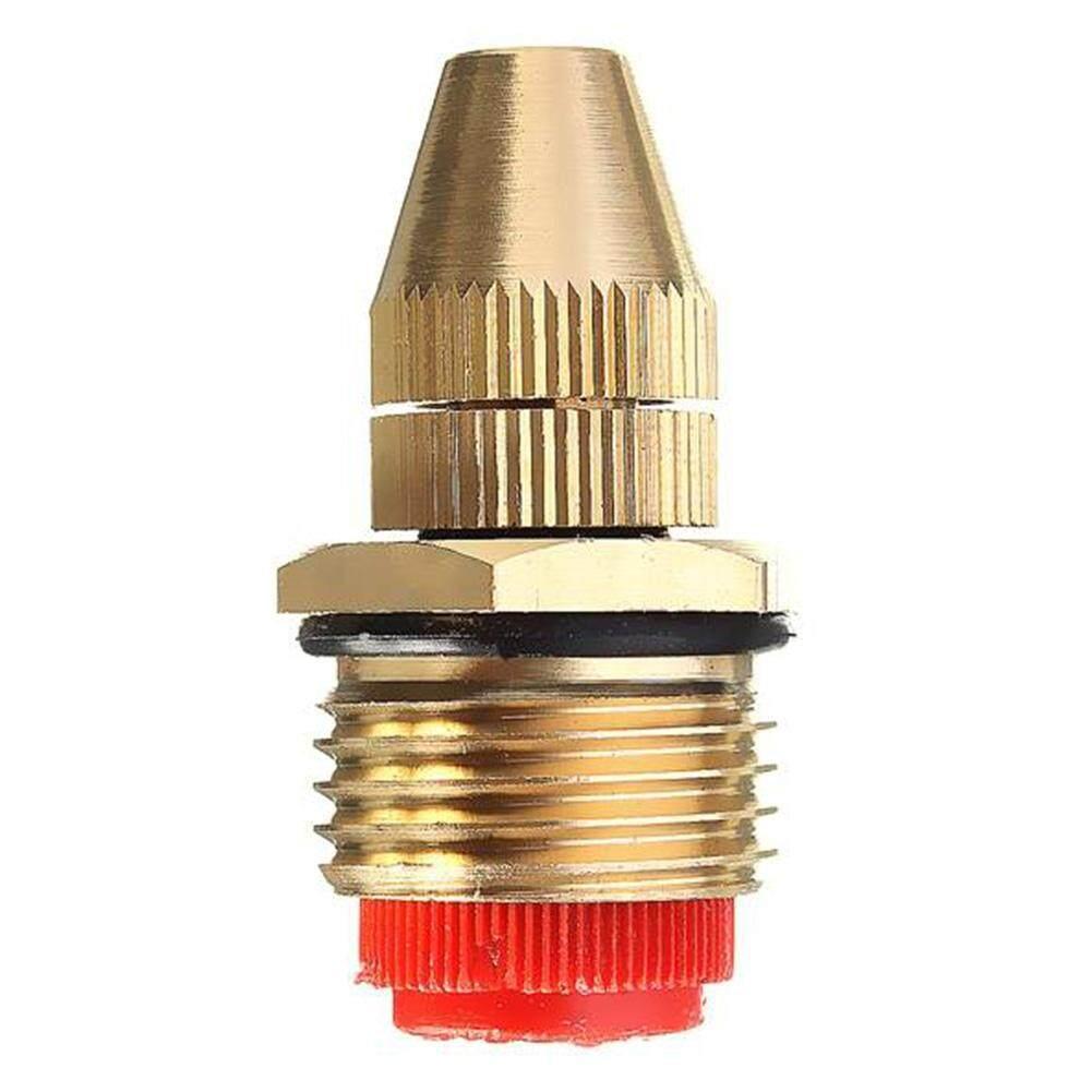 1/2 Inch Adjustable Brass Garden Multiple Misting Nozzle Garden Lawn Atomizing Spray Patterns