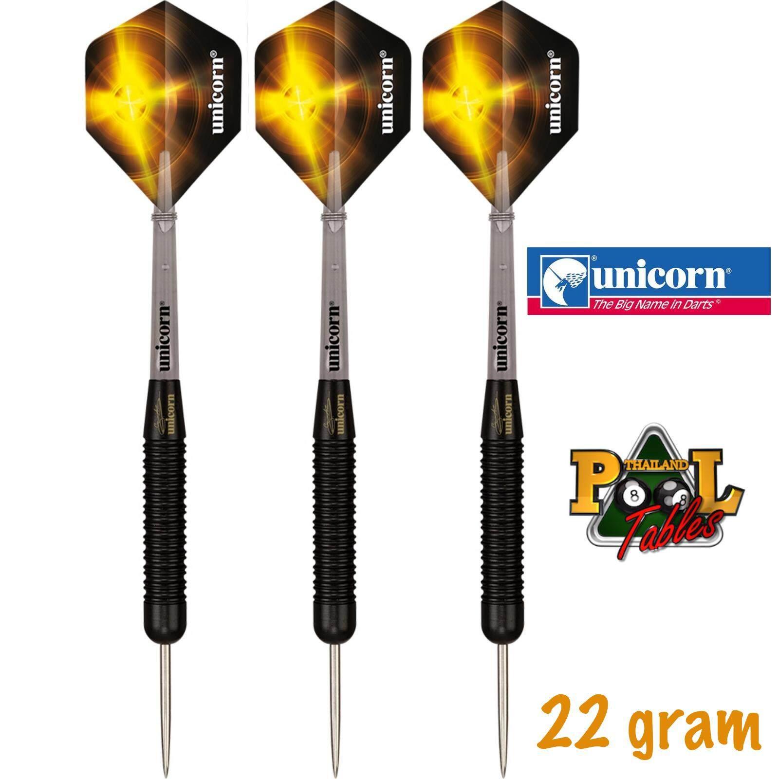 Unicorn Core Plus Rubberised Steel Tip Darts