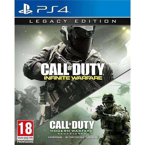 ps4 call of duty infinite warfare legacy edition ( english zone 3 )