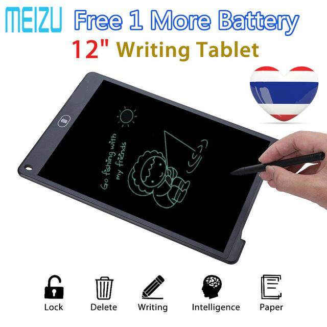 Meizu Digital Writing Board 12 Inch Lcd Writing Tablet Kids Drawing Board Drawing Tablet Electronic Writing Pad With Stylus For Kids Family Memo Office Designer.