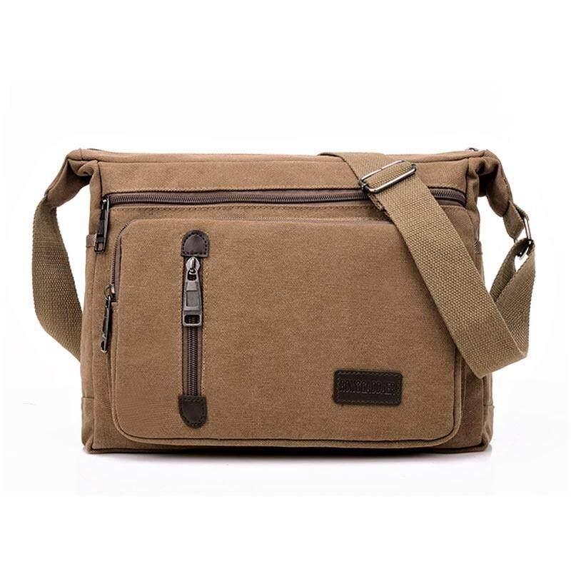 ราคา Matteo กระเป๋าสะพายแคนวาส กระเป๋าเอกสาร Code 154Zx สีกาแฟ Matteo เป็นต้นฉบับ