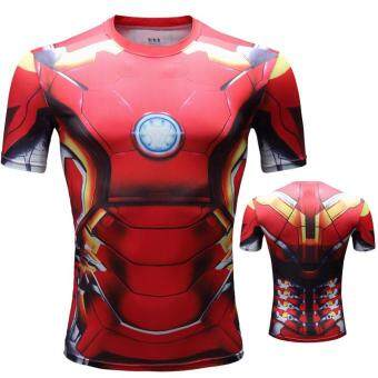 Pencarian Termurah Pahlawan super Fitness Baju ketat SID Ironman Amerika Serikat Pemimpin tim Elastisitas Tinggi cepat