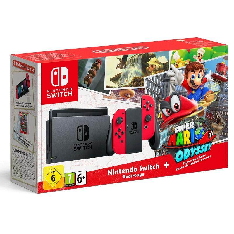 Nintendo Switch - Super Mario Odyssey (this Bundle No Game (super Mario Odyssey) Included).