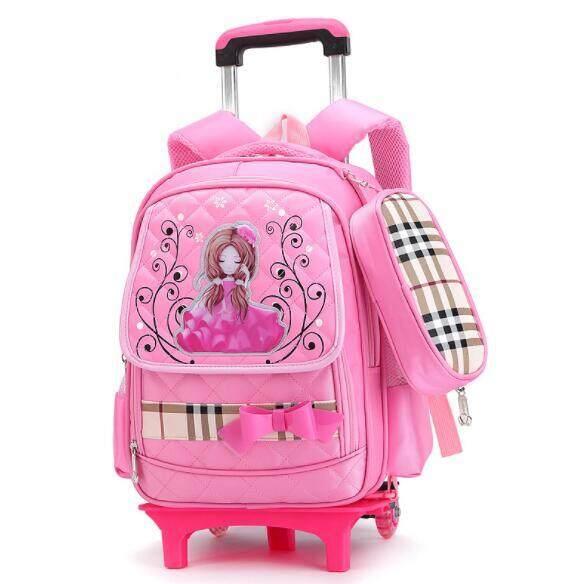 Trẻ Em Xe Đẩy Trường Túi Sinh Viên Rời Backpack OTO5
