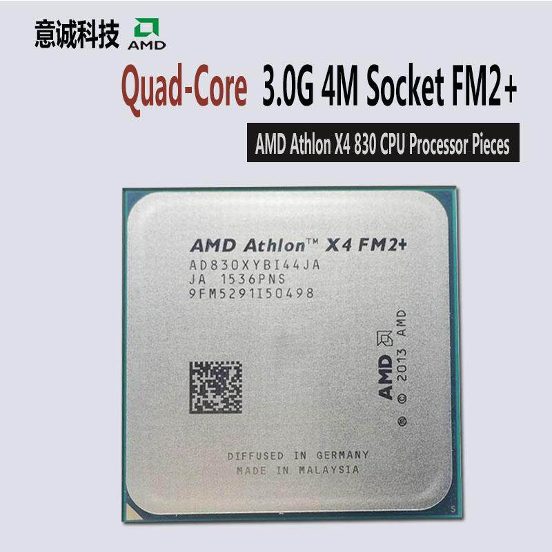 AMD Athlon X4 830 Prosesor CPU Quad-Core 3.0 GHz/65 W FM2 + 906pin Desktop AD830XYBI44JA-Intl