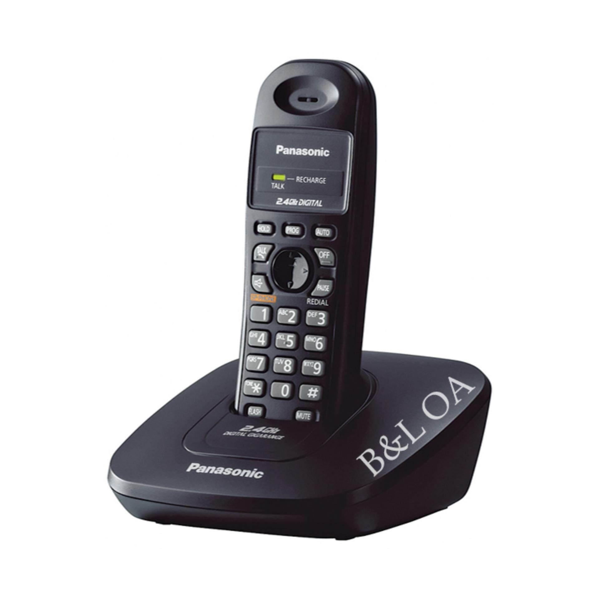 Panasonic Cordless Phone รุ่น Kx-Tg3600bxb - Black.