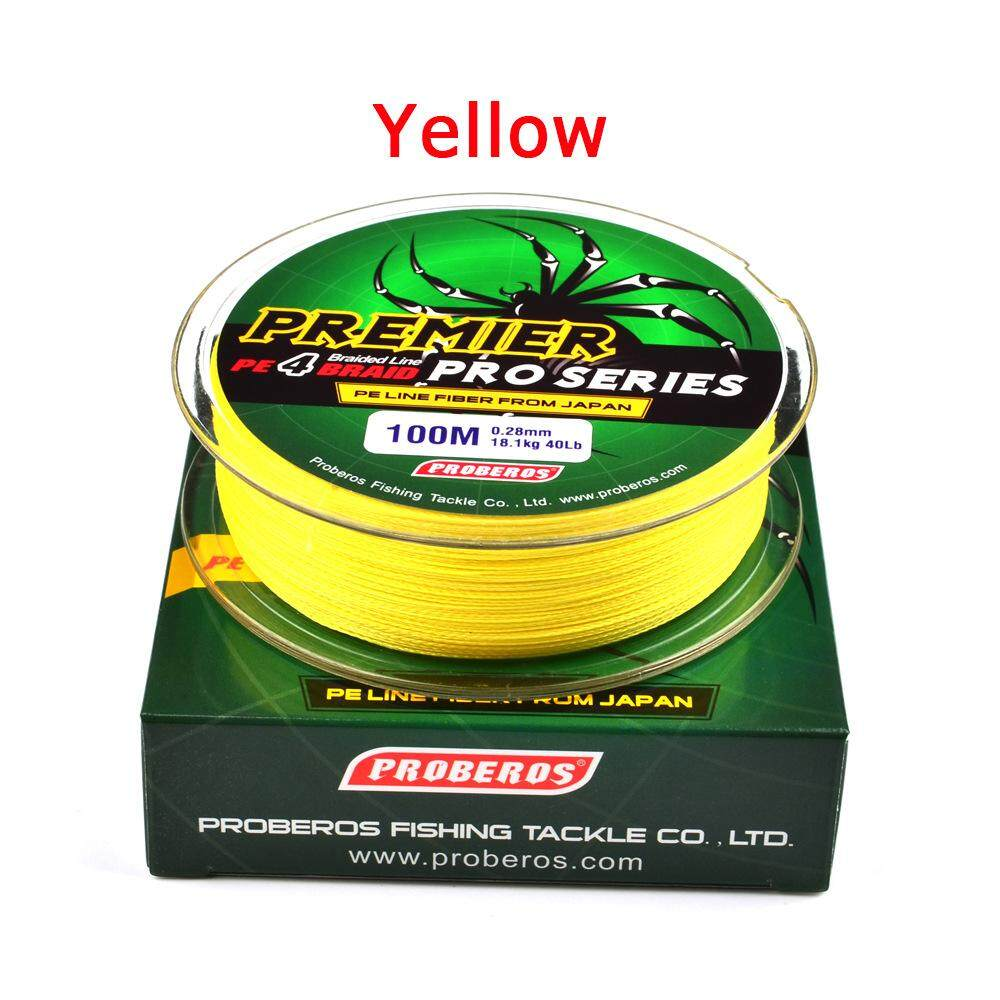 Super Strong Braided Wire Fishing Line PE Material Multifilament Carp Fishing Rope Line 100M