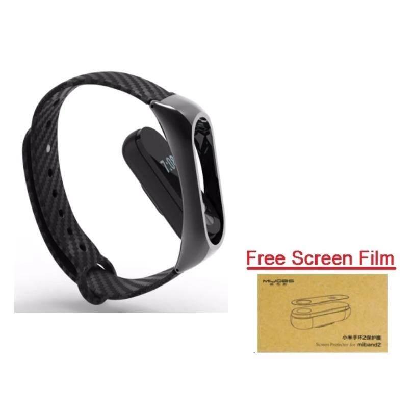 Xiaomi Wristband Strap for Xiaomi Mi Band 2 สายรัดข้อมือ (Metal Frame+Film)