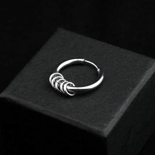 2ce60a276 G-dragon Deer Han Wu Yifan GD Celebrity Style Titanium Steel Ear Ring Men  Earrings