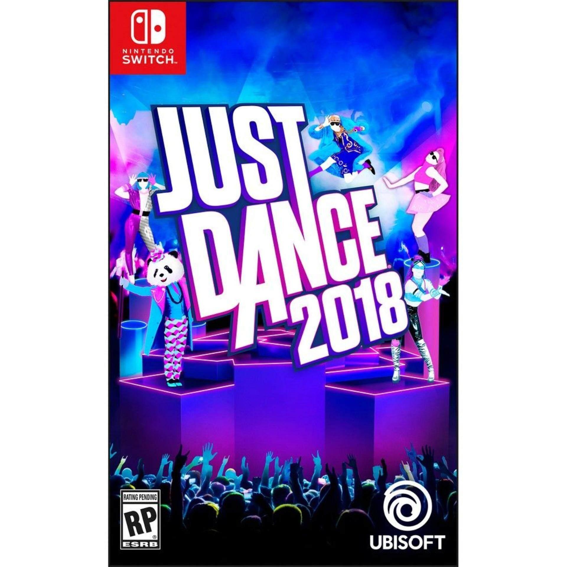 nintendo switch just dance 2018 ( english )