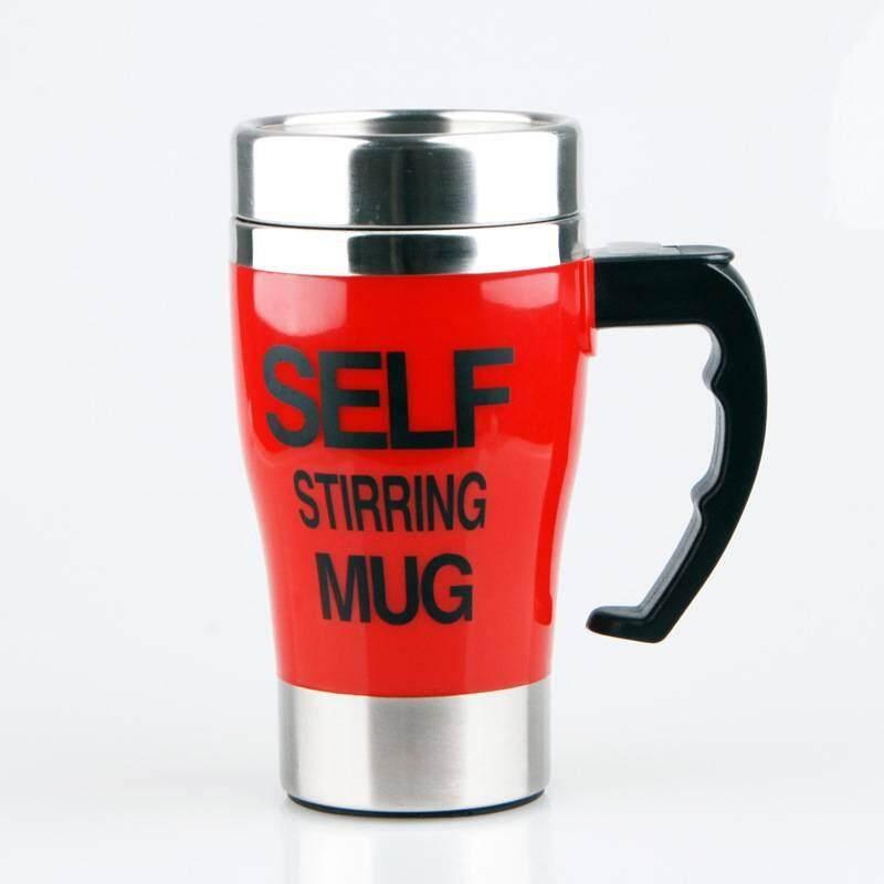 auto mug แก้วปั่นอัตโนมัติมีหูจับ รับสกรีนโลโก้ รุ่นใส่ถ่าน350 ML portable mixer ชงเวย์โปรตีน (Whey protein) คอลลาเจน  ชงกาแฟ DETOX พร้อมดื่ม