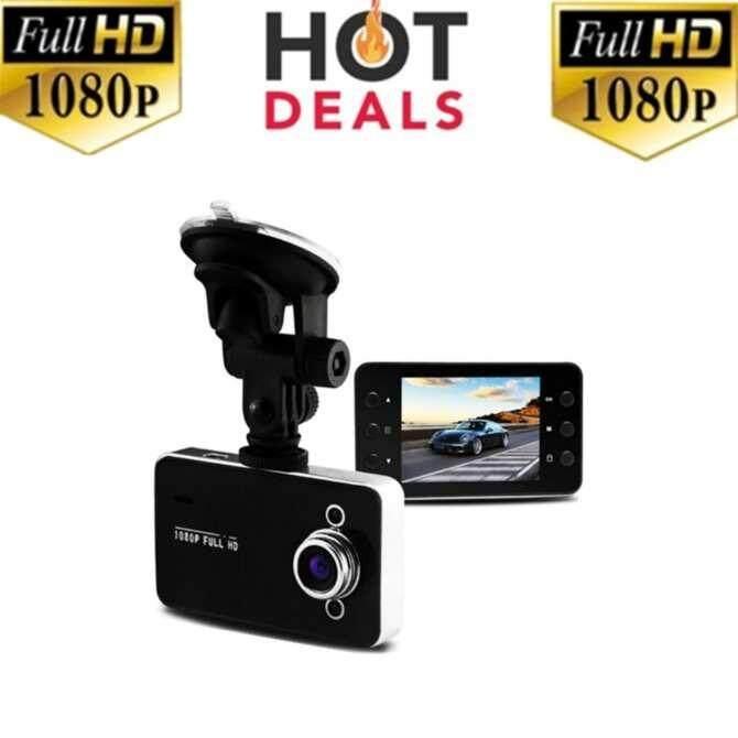HANGROOกล้องติดรถยนต์ HD Portable FULL HD1080 รุ่น K6000(black)