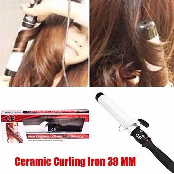 ขาย Cb เครื่องม้วนผม Professional Ceramic Curling Iron Cb 38 White Startup