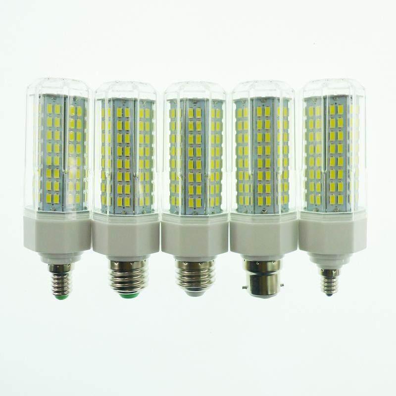 Star Mall E27 LED Lamp 110-265V 5730 SMD 144 LEDs Corn Lights Bulb Home Dimmable Energy Saving Lamps With Aluminium Base