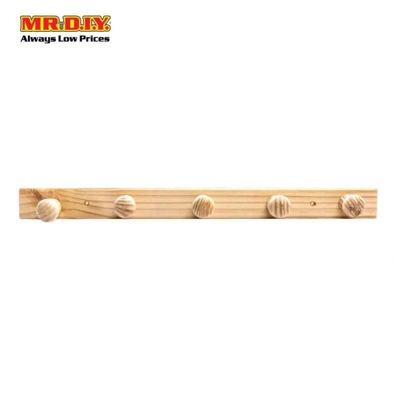 Wooden Knob Hanger