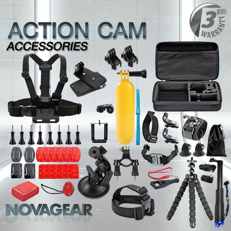 Accessories Kit Case For Gopro Hero 6/5/4/3/sj4000/sj5000/sj6000 (50-In-1).