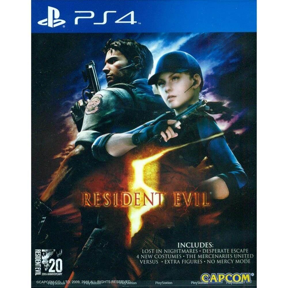 PS4 : Resident Evil 5 [Asia]