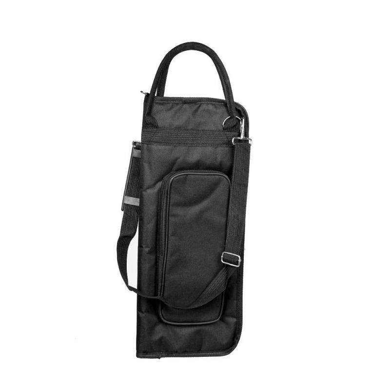 600D Water-resistant Drum Sticks Gig Bag Oxford Cloth Handy Strap Gripped Handle Pocket 5mm Cotton Padded