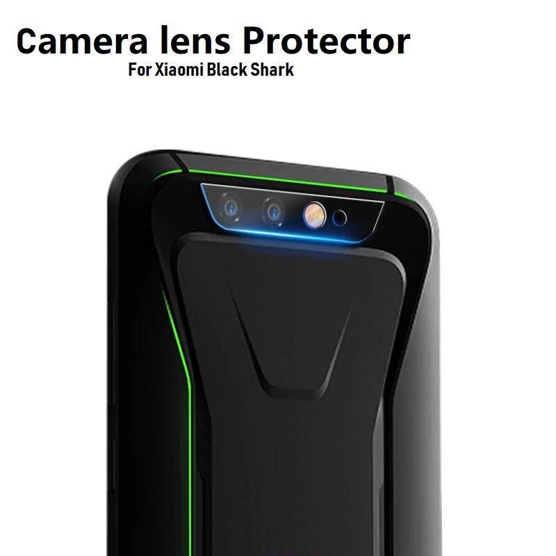 2 Pcs Xiaomi Black Shark Kamera Kaca 5D Kaca Antigores Lensa Pelindung Penutup Layar Pelindung Lapisan Film untuk Xiaomi Blackshark