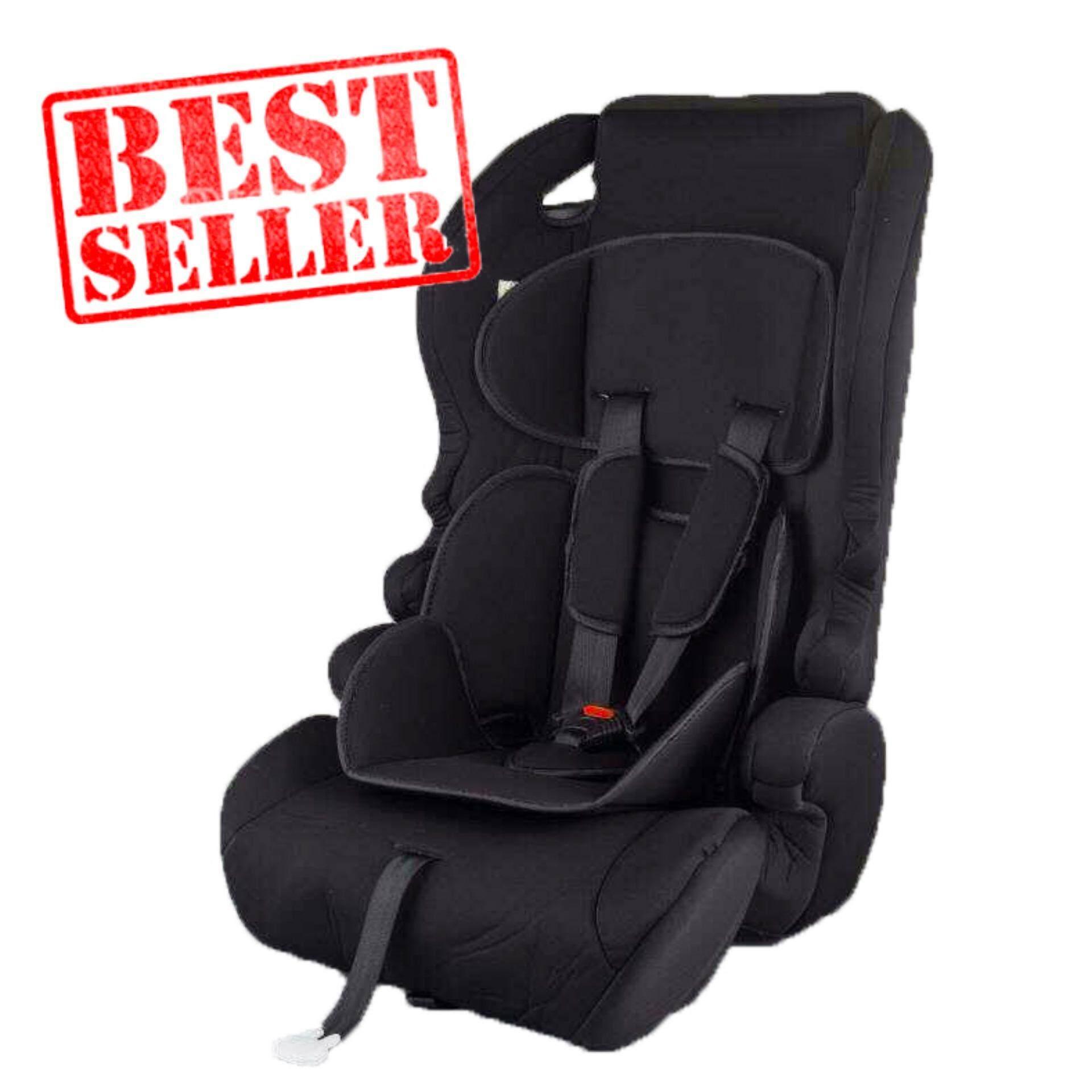 Baby Boo คาร์ซีท(car Seat) เบาะรถยนต์นิรภัยสำหรับเด็กขนาดใหญ่ ตั้งแต่อายุ 9 เดือน ถึง 12 ปี รุ่น: Y7 (สีดำ).