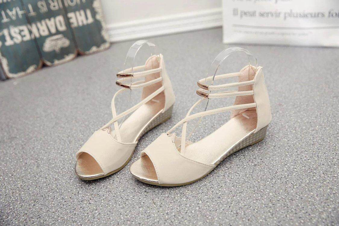 Women Open-Toe Sandals By Taobao Collection.